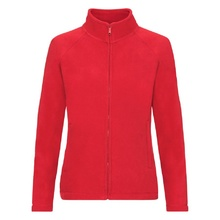 "Толстовка ""Lady-Fit Full Zip Fleece"", красный_XL, 100% п/э, 250 г/м2"